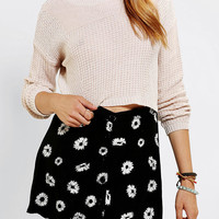 Urban Outfitters - Silence + Noise Stitch Cropped Sweater