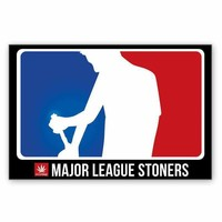"MAJOR LEAGUE STONER 24"" X 36"" POSTER"
