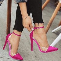 Jelly Clear Chaussure Pumps
