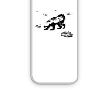 Honey Badger Zilla - iPhone 5&5s Case