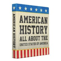 Vintage American History Binder from Zazzle.com