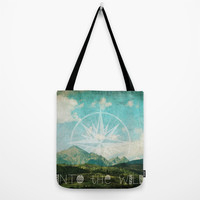 Into the Wild Tote Bag by Jenndalyn