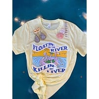 Floatin' the river tee-summer/spring-unisex