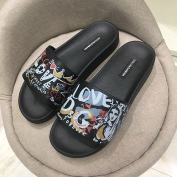 Dolce&Gabbana Womens Slides Slippers