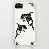 orca iPhone & iPod Case by Manoou