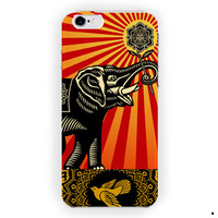 Obey Elephant Poister Vintage For iPhone 6 / 6 Plus Case