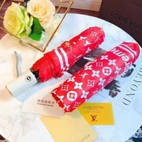 LV Louis Vuitton Fashion Folding Umbrella