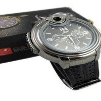 Mens New Military Lighter Watch