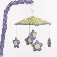 Cotton Tale Periwinkle Musical Mobile
