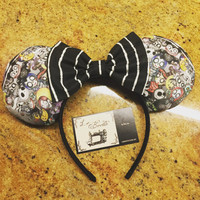 Tim Burton Disney Ears