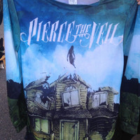 Pierce the Veil's Collide with the Sky Unisex Crewneck Sweatshirt Longsleeve tee