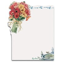 Poppies Sticky Notes Pad