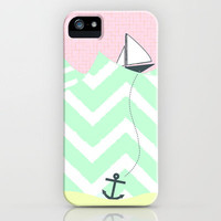 Anchor Drop iPhone Case by Dungo | Society6