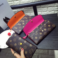 Candice's Classical Wallet Leather Button Wallet Purse Fashion Christmas Gift Ladies Handbags Totes Satchel Brand Design