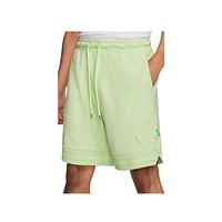 Air Jordan Men's MJ Wings Wash Fleece Short Ghost Green