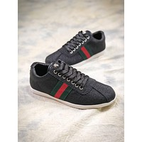 Gucci Bambi Glitter Low-top Trainers Black 419712kw040107430