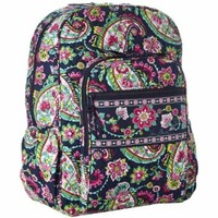 Vera Bradley Women's Campus Backpack African Violet Backpack