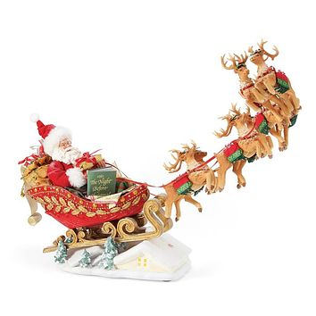 Department 56 Possible Dreams - Christmas Traditions - Anniversary Edition Dash Away - 6005284