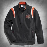 Embroidered Soft Shell Jacket