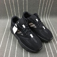 Adidas Yeezy Boost 700 Black Women Men Fashion Trending Running Sports Shoes Sneakers