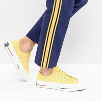 Converse Chuck Taylor All Star 70 Low Sneakers In Yellow at asos.com