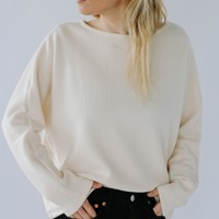 Made My Day Sweater (Cream)