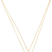 Serena Necklace in Gold