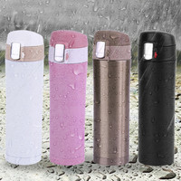4 colors 500ML Stainless Steel Travel Coffee Mug Vacuum Cup Coffee Tea Mug Milk Water Cup Vacuum Flask Cup