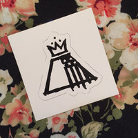 AB/AP Fall Out Boy Logo Sticker