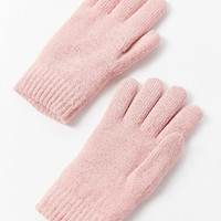 Glitter Chenille-Lined Glove   Urban Outfitters