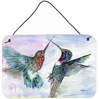Hummingbird Combat Wall or Door Hanging Prints