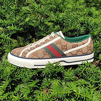 GUCCI GG Tennis 1977 Embroidered breathable casual sports shoes sneakers