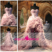 Style R10231 Feather Lacing Bodice Front Short And Long Back Wedding Dress Photo, Detailed about Style R10231 Feather Lacing Bodice Front Short And Long Back Wedding Dress Picture on Alibaba.com.