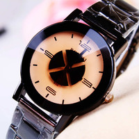 Awesome Trendy Designer's New Arrival Gift Great Deal Good Price Stylish Simple Design Strong Character Creative Ladies Stainless Steel Band Watch