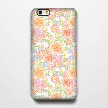 Chic Flowers iPhone 6 6 Plus 5S 5C 5 4 Protective Case #227