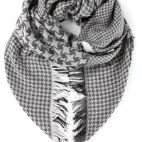 Stella McCartney houndstooth scarf