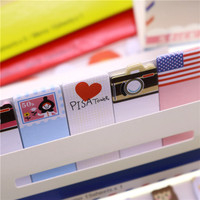 1pc British style Memo notes stick Mini Memo Pad Sticky London post it Note Paper Scrapbooking Sticker Pads Creative Stationery