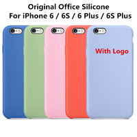 """Original Office Silicone Case For Apple iPhone 6S 4.7"""" 6S Plus 5.5""""High quality Ultra Thin Phone Case Cover Luxury Brand Case"""