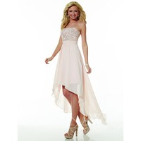 Christina Wu Occasions 22611 High Low Sequin Bridesmaid Dress
