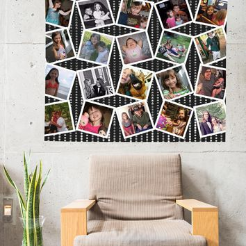 Reiki Charged Custom Personalized Photo Tapestry For Your Pictures By Designer Artwork Included 4 ft x 5 ft