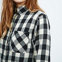 Denim & Supply Ralph Lauren Oliver Plaid Shirt in Mono - Urban Outfitters
