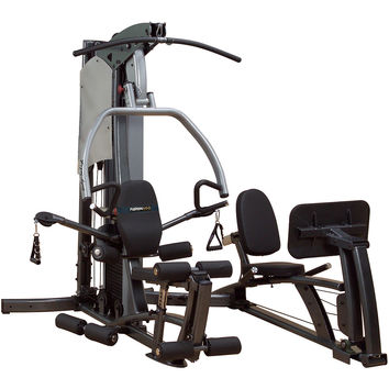Body Solid Fusion 500 Home Gym with Leg Press