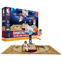 CLEVELAND CAVALIERS SHOOTOUT SET 60 PCS LEBRON JAMES KEVIN LOVE OYO MINIFIGURE