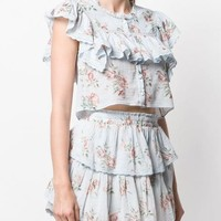 Love Shack Fancy Laurel Top - Farfetch