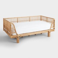 Honey Rattan Daybed