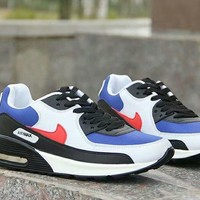 """""""Nike Air Max"""" Unisex Casual Fashion Multicolor Small Air Cushion Sneakers Couple Running Shoes"""
