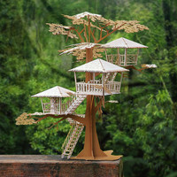 Super Deluxe Tree House Model Kit