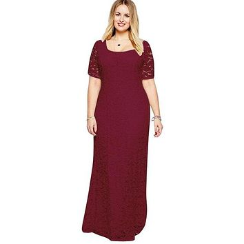 Elegant V Backless Slim Floor Length Long Dress