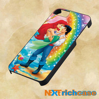 Ariel the little mermaid rainbow colorful For iPhone, iPod, iPad and Samsung Galaxy Case