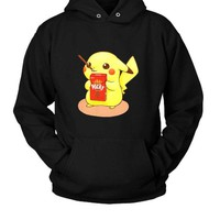 DCCKL83 Pocky Pikachu Hoodie Two Sided
